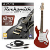 Rocksmith 2014 PS3 + LA Electric Guitar, Red