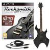 Rocksmith 2014 PS3 + Harlem Electric Guitar, Black