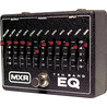 MXR 10 Band grafisk EQ-svart