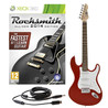 Rocksmith 2014 Xbox 360 + LA Electric Guitar, Red