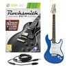 Rocksmith 2014 Xbox 360 + LA Electric Guitar, Blue