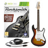 Rocksmith 2014 Xbox 360 + LA Electric Guitar, Sunburst