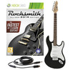 Rocksmith 2014 Xbox 360 + 3/4 LA Electric Guitar, Black