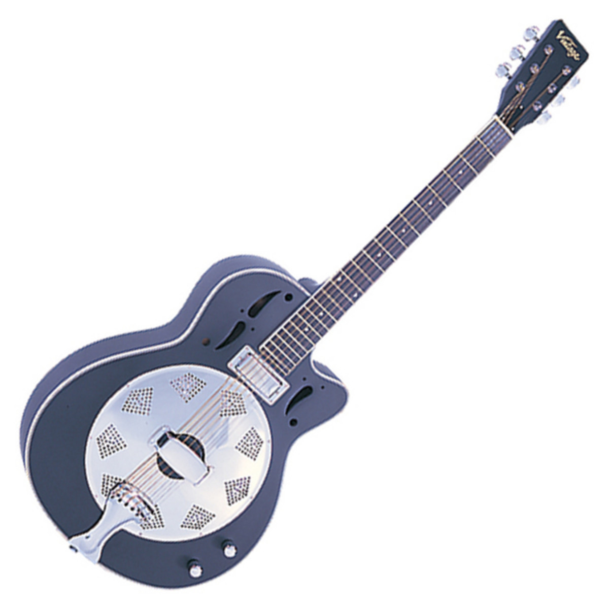 vintage vrc800bk resonator guitar used at. Black Bedroom Furniture Sets. Home Design Ideas