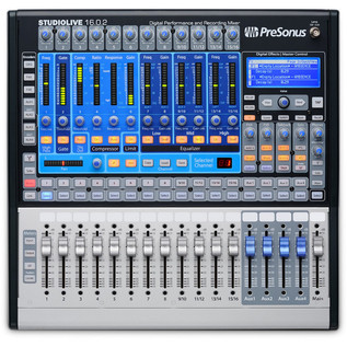 Presonus StudioLive 16.0.2 Mixer & Shure SRH240 Headphone Bundle