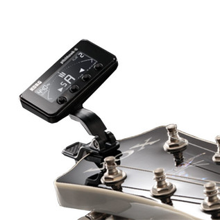 KORG PitchHawk-G Guitar and Bass Tuner, Black