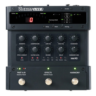 DigiTech Vocalist Live 3 Vocal Harmony Pedal Top
