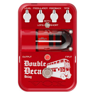 VOX Tone Garage Double Deca Delay Pedal