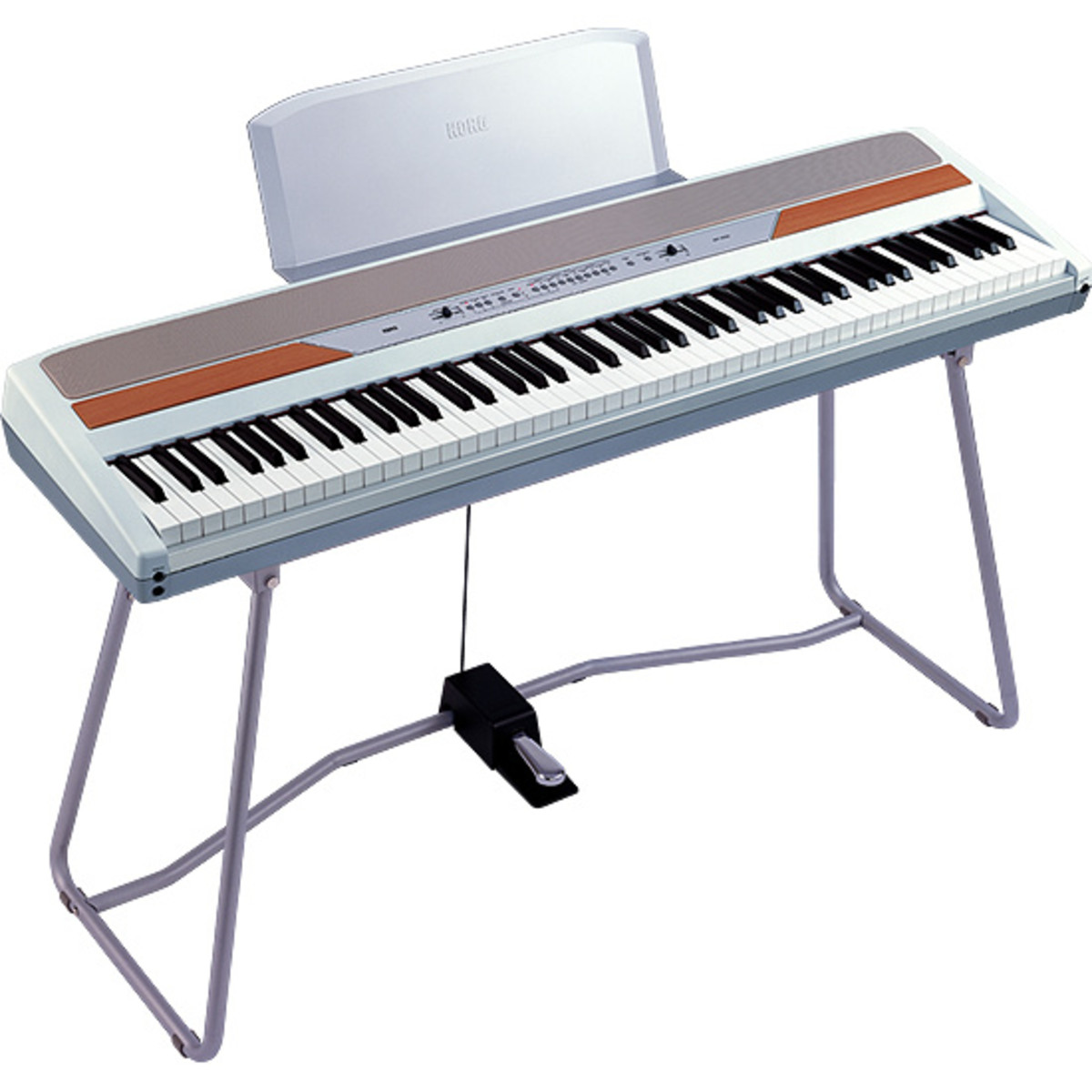 disc korg sp 250 stage piano white inc stand at. Black Bedroom Furniture Sets. Home Design Ideas