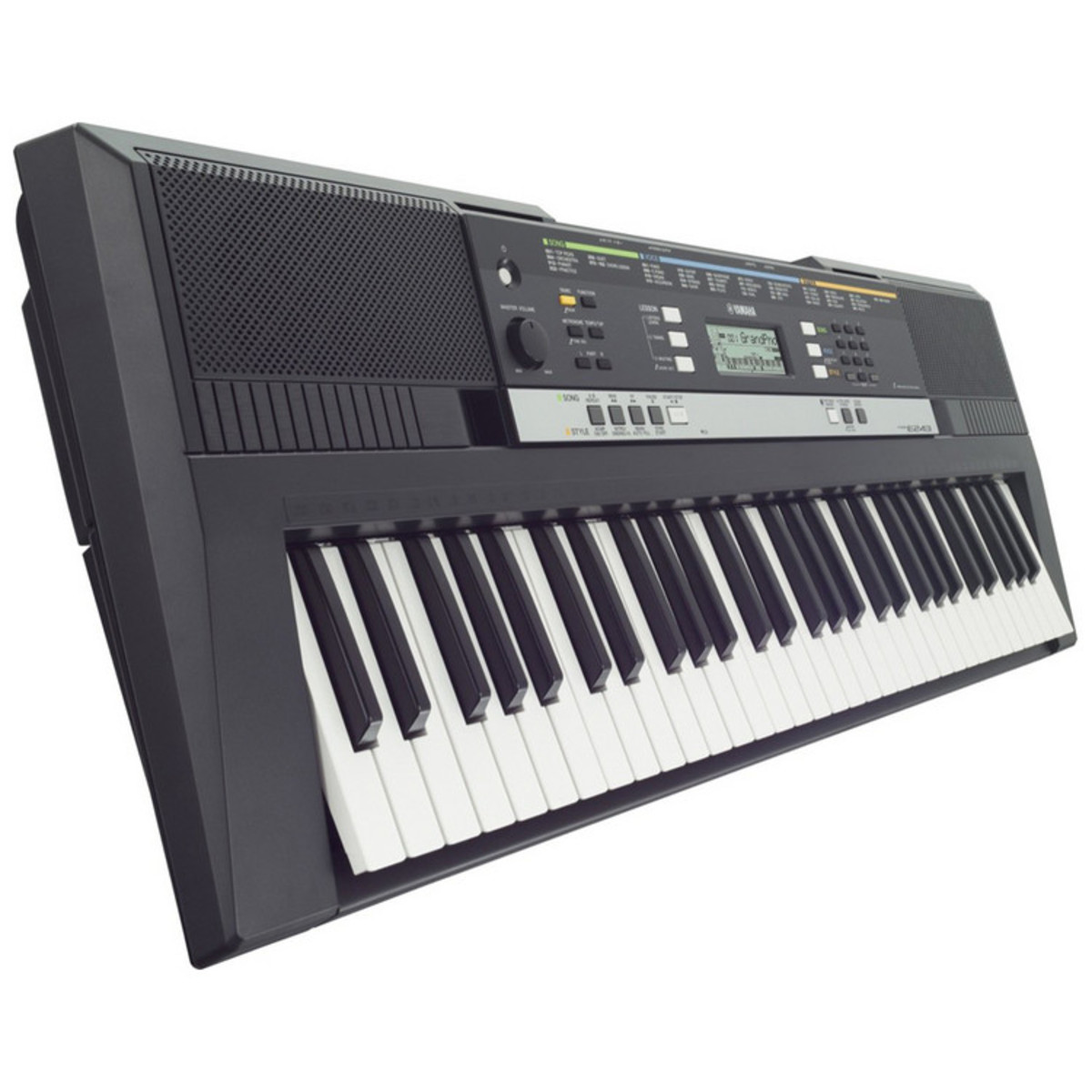 disc yamaha psre243 portable keyboard at