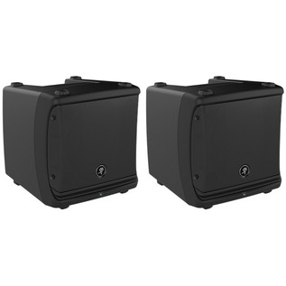 Mackie DLM8 Active PA Speakers and Free Stands