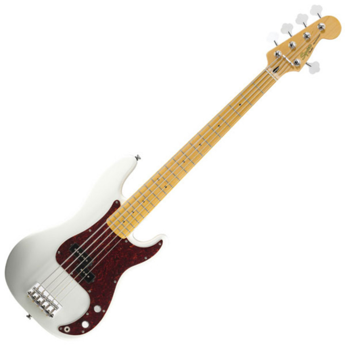 squier by fender vintage modified p bass v 5 string olympic white at. Black Bedroom Furniture Sets. Home Design Ideas
