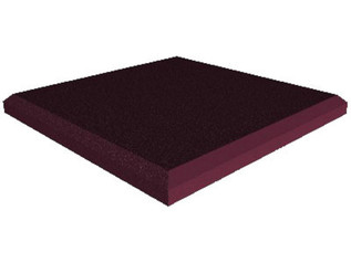 Universal Acoustics Jupiter Wedge Flat 600 Burgundy