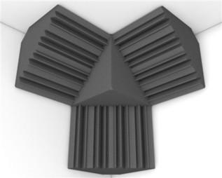 Universal Acoustics Mercury Corner Cluster Kit 1 Charcoal