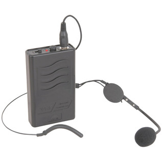 QTX Neckband Mic & Belt Pack Transmitter For QRPA Systems, 175.0 MHz