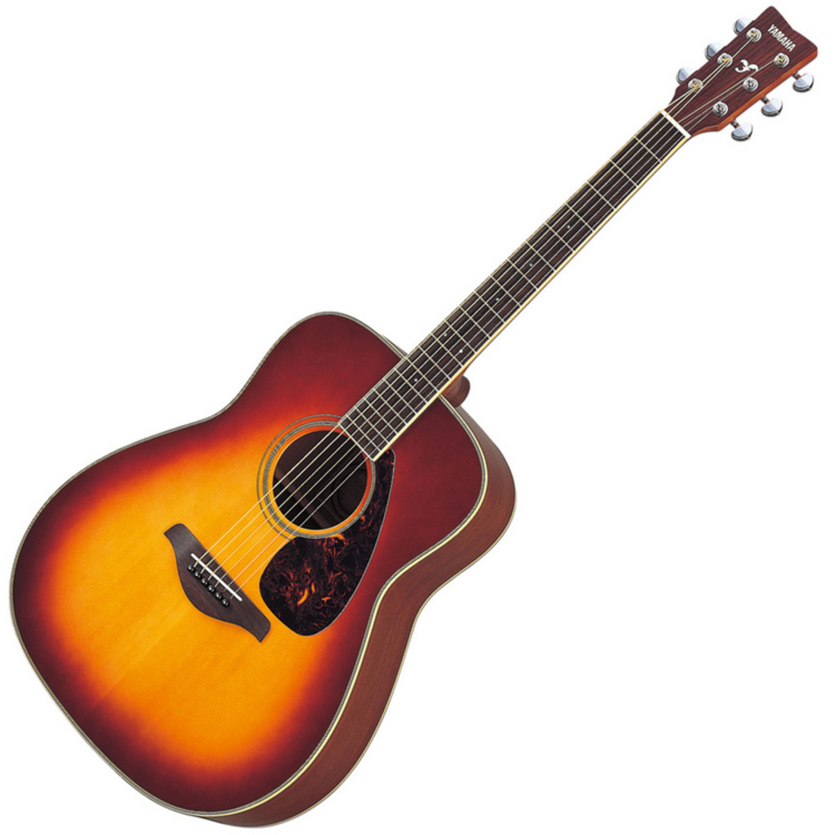 disc yamaha fg720s acoustic guitar sunburst at
