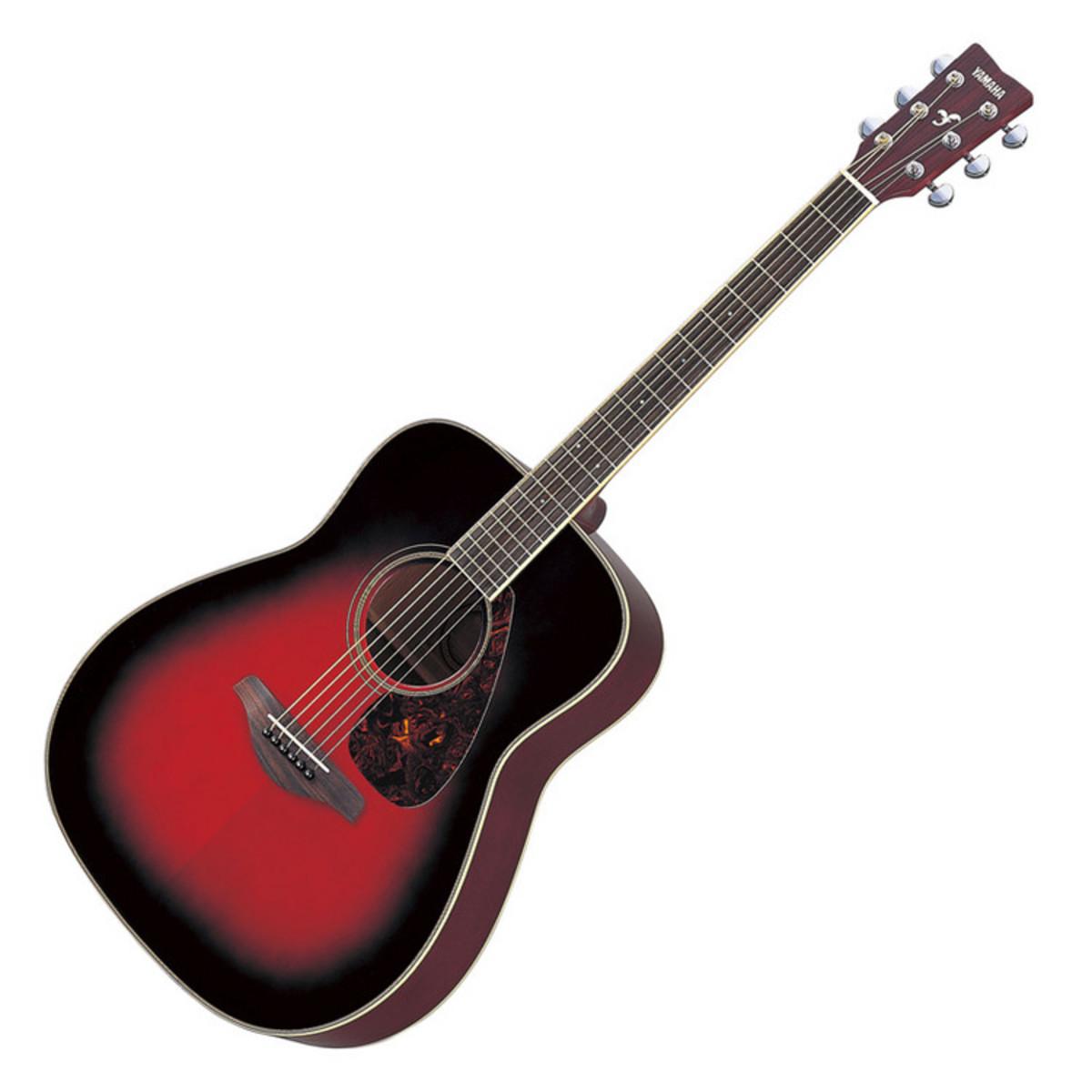 yamaha fg720s guitare acoustique rouge cr puscule. Black Bedroom Furniture Sets. Home Design Ideas