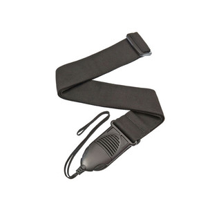 planet waves guitar strap black nylon