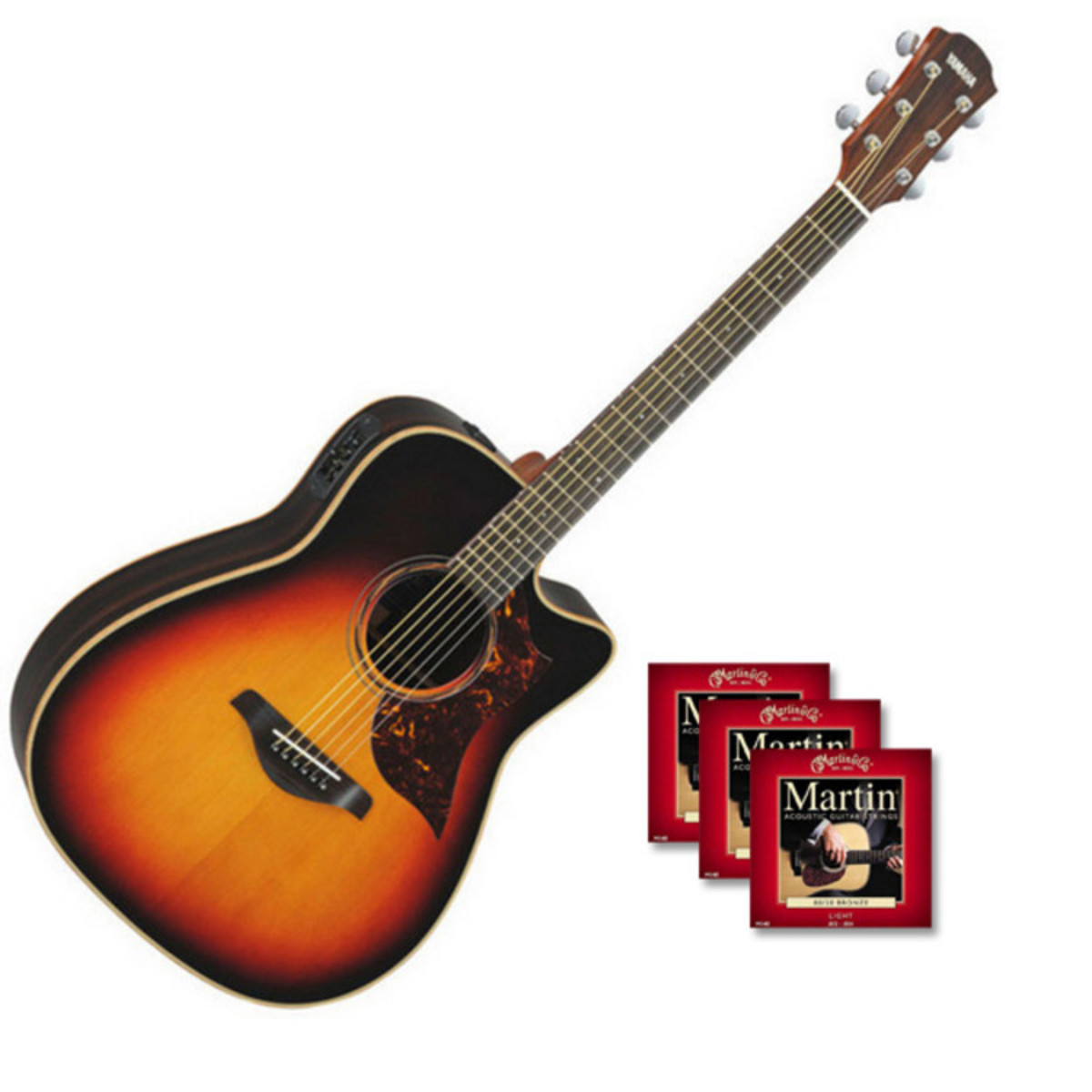 yamaha a3r guitare lectro acoustique sunburst vintage. Black Bedroom Furniture Sets. Home Design Ideas