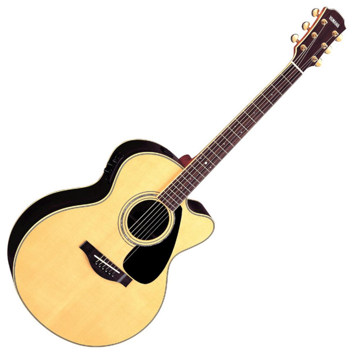 yamaha ljx6c guitare acoustique caisse en bois massif. Black Bedroom Furniture Sets. Home Design Ideas