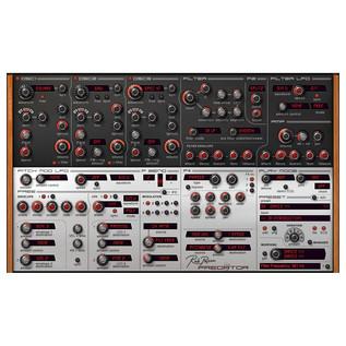 Rob Papen Predator Synth Virtual Instrument Plugin, Screenshot