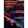 Teach Yourself to Improvise on Keyboard - Book & CD