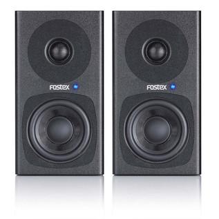 Fostex PM0.3 30W Active Monitors, Black (Pair)