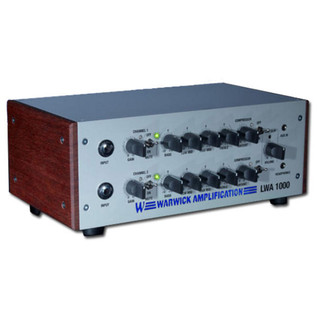 Warwick LWA1000 Bass Amp Head, Silver