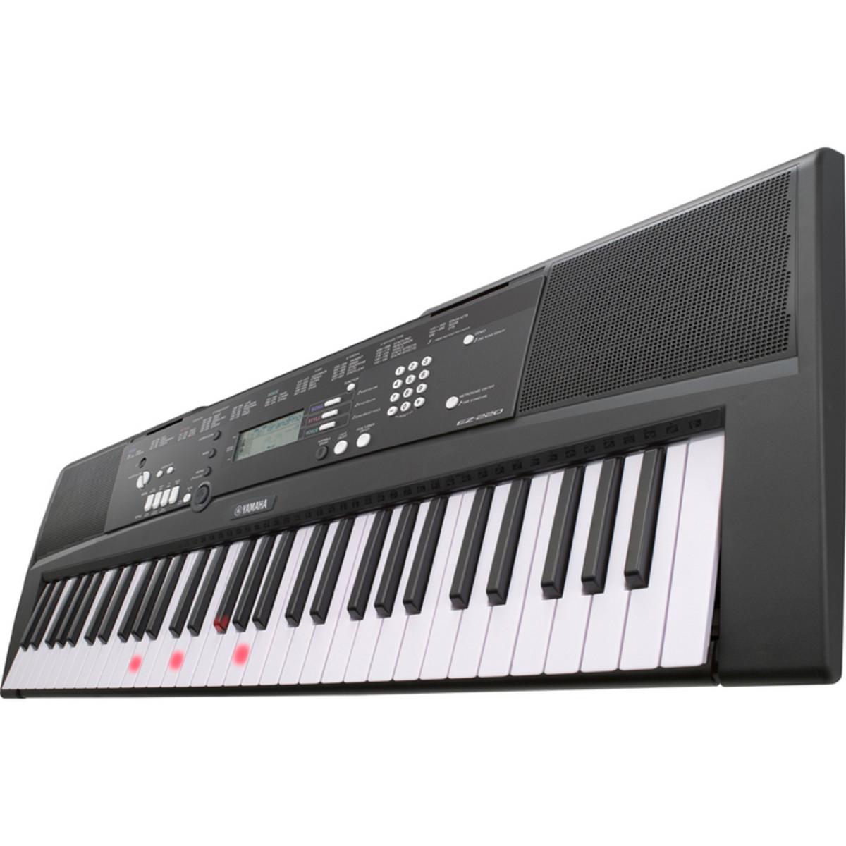 Yamaha ez220 61 key keylighting keyboard nearly new at for How to repair yamaha keyboard
