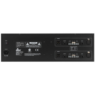 dbx 1231 Dual 31-Band Graphic EQ Rear