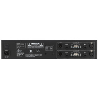 dbx 1215 Dual 15-Band Graphic EQ Rear