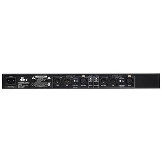 dbx 223xs Stereo 2-Way/Mono 3-Way Crossover Rear