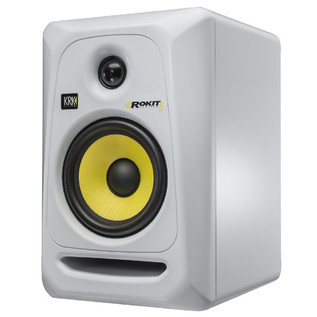 KRK Rokit RP5 G3 Active Monitor (White), Single