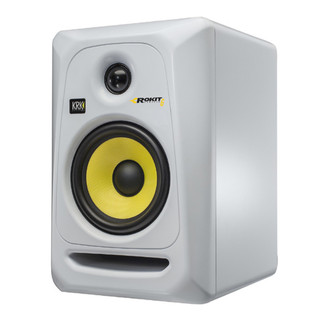 KRK Rokit RP6 G3 Active Monitor (White), Single
