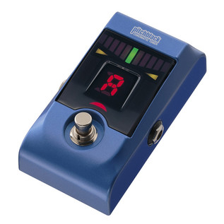 Korg Pitchblack Floor Pedal Tuner, Limited Edition Metallic Blue