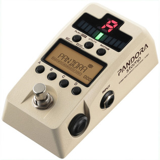 Korg Pandora Stomp Multi Effect Processor and Tuner, Ivory