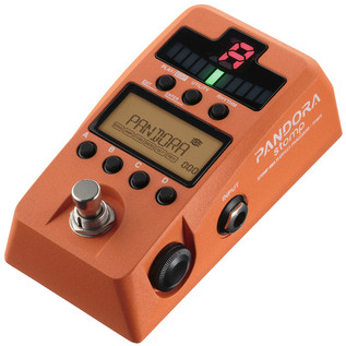 Korg Pandora Stomp Multi Effect Processor and Tuner, Orange