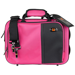 Protec Slimline Clarinet Pro Pac Case, Hot Pink