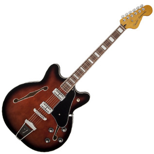 Fender Modern Player Coronado, Rosewood Fretboard, Black Cherry Burst