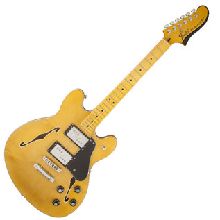 Fender Modern Player Starcaster, Maple Neck, Natural