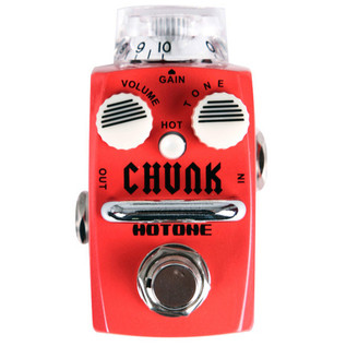Hotone CHUNK Metal Distortion Micro Effects Pedal