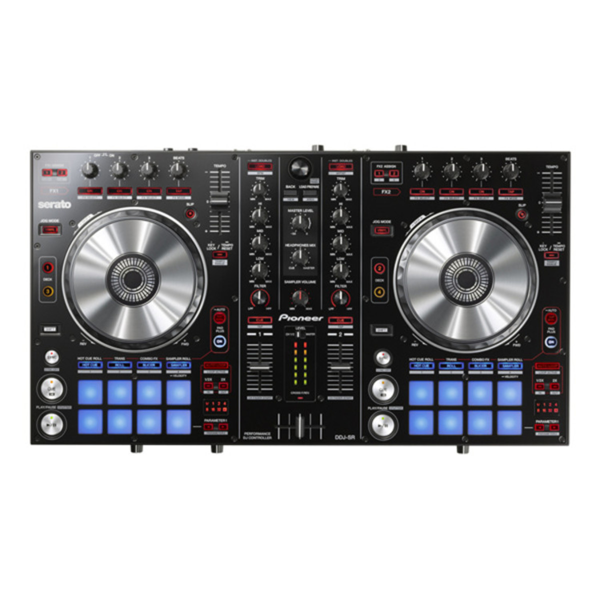 pioneer ddj sr serato dj controller at. Black Bedroom Furniture Sets. Home Design Ideas