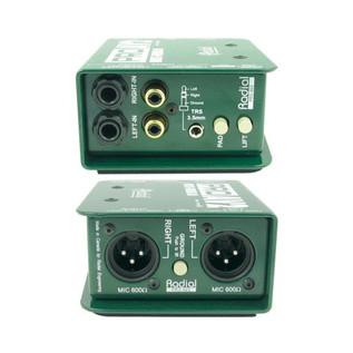 Radial ProAV2 Stereo Multimedia DI Box
