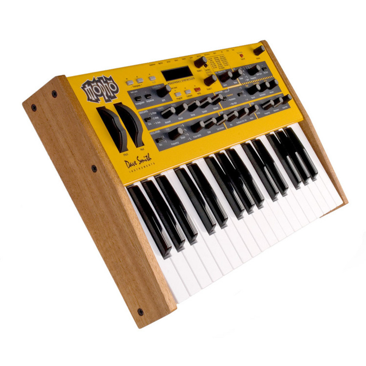 dave smith instruments mopho keyboard synthesizer nearly new at. Black Bedroom Furniture Sets. Home Design Ideas