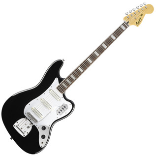 Squier by Fender Vintage Modified Bass VI, RW, Black