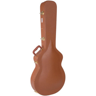 Kinsman Guitar Case, Brown, Arch Top Semi/Ac