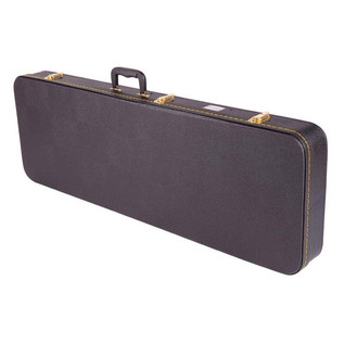 Kinsman SG/LP Style Guitar Case, Rectangular, Black