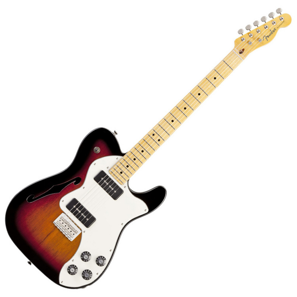 fender modern player telecaster thinline deluxe nearly new at. Black Bedroom Furniture Sets. Home Design Ideas