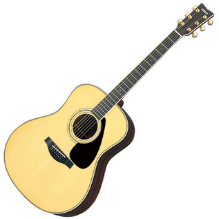 Yamaha LL6 Acoustic Guitar, Natural