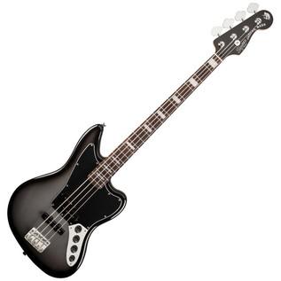 Squier by Fender Troy Sanders Jaguar Bass, Silverburst